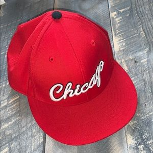 Chicago Mitchell & Ness Fitted Hat